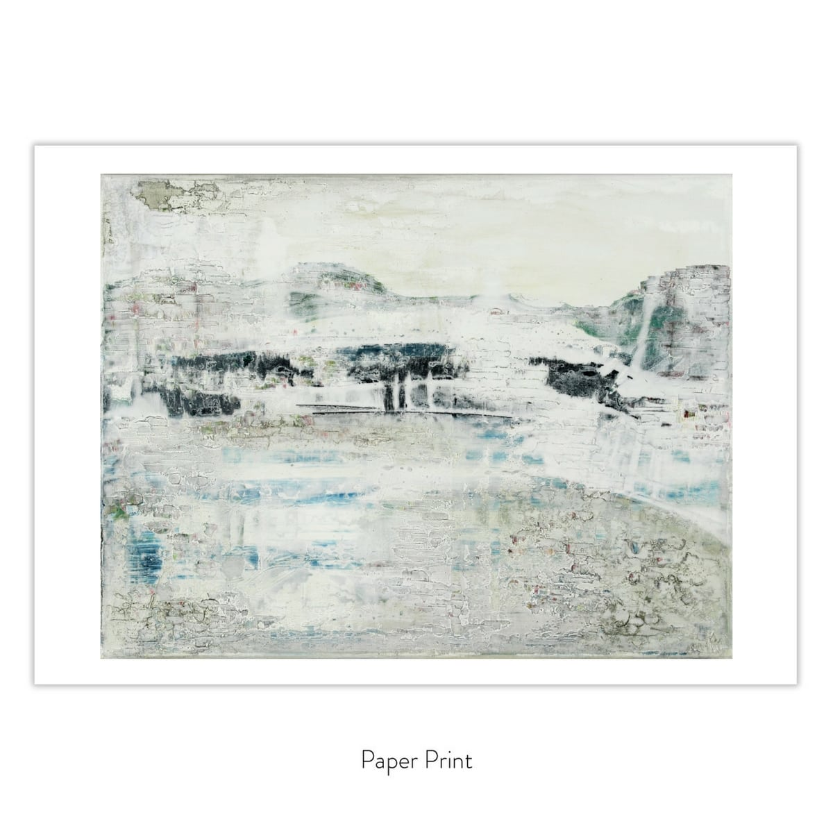 A Moment Of Peace in paper print format
