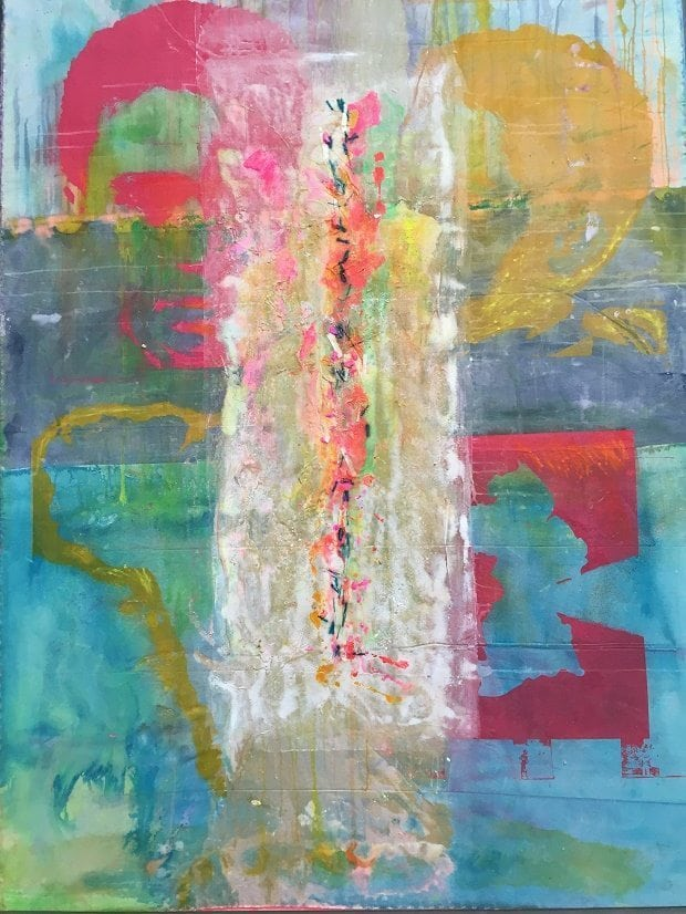 Frank Bowling at the Summer Exhibition