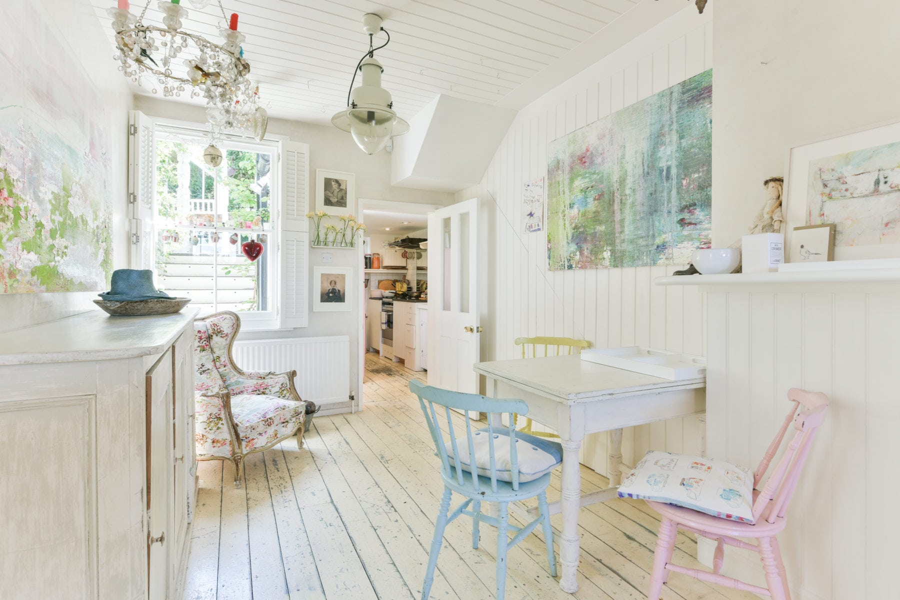 British Artist Jessica Zoob rents out her Lewes Home via Airbnb
